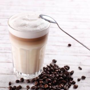 Boisson café latte sans gluten