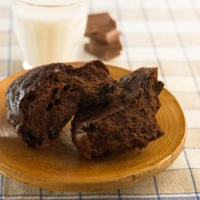 Booster chocolate bread