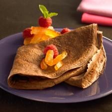 Booster chocolate pancake