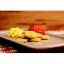 Petits biscuits saveur jambon fromage